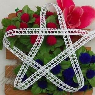 Christmas DIY crafts DIY clothing accessories instinctive quality cotton lace 1 1 cm lace trim can