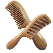 Ремесленная деревянная круглая ручка сандалии волос Расчёски и гребни для волос натуральный сандалового дерева прекрасно гребень антистатические Средства ухода за мотоциклом @ me88