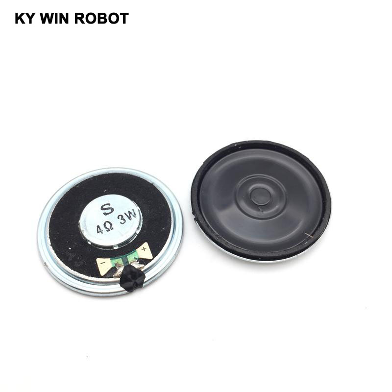 2pcs/lot New Ultra-thin Speaker 4 Ohms 3 Watt 3W 4R Speaker Diameter 40MM 4CM Thickness 5MM