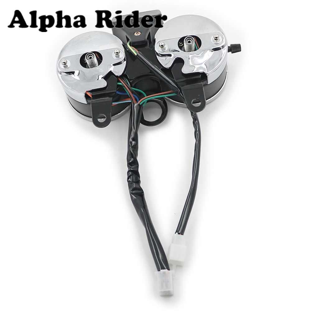 Pour Suzuki GN125 moto Instrument tachymètre odomètre jauge housse GN 125