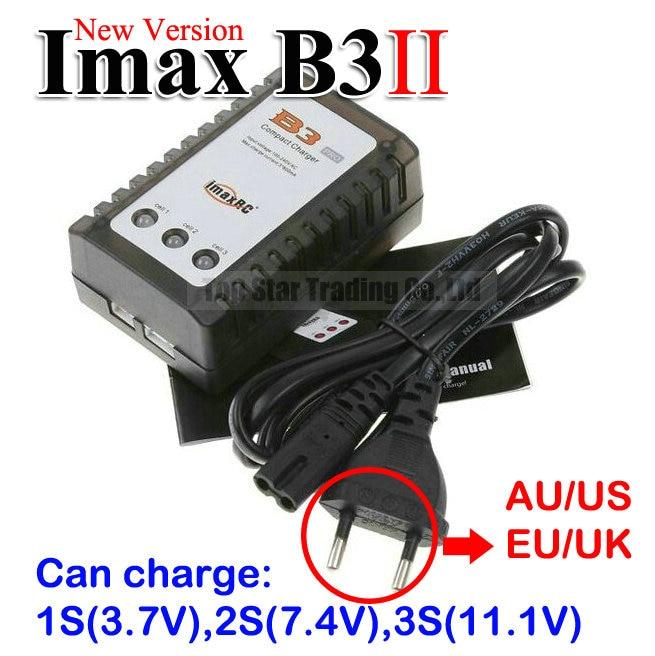 Новая версия Imax B3 Ii Pro Ac липо зарядное устройство B3 для 3.7 В 7.4 В 11.1 В ли оптово-pro литий-ионная батарея зарядное устройство 1 s 2 s 3 s клетки