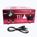 BJT Powerful Tattoo Power Supply kit Aluminum alloy shell is easy to heat radiation Tattoo Machine Power supplies