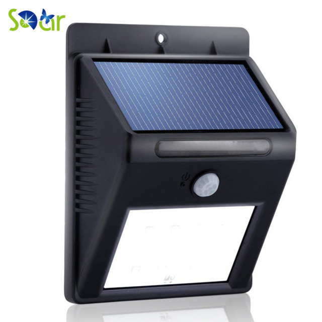 Sdar bright 8led solar power outdoor led light motion activated sdar bright 8led solar power outdoor led light motion activated light for garden patio path lighting aloadofball Images