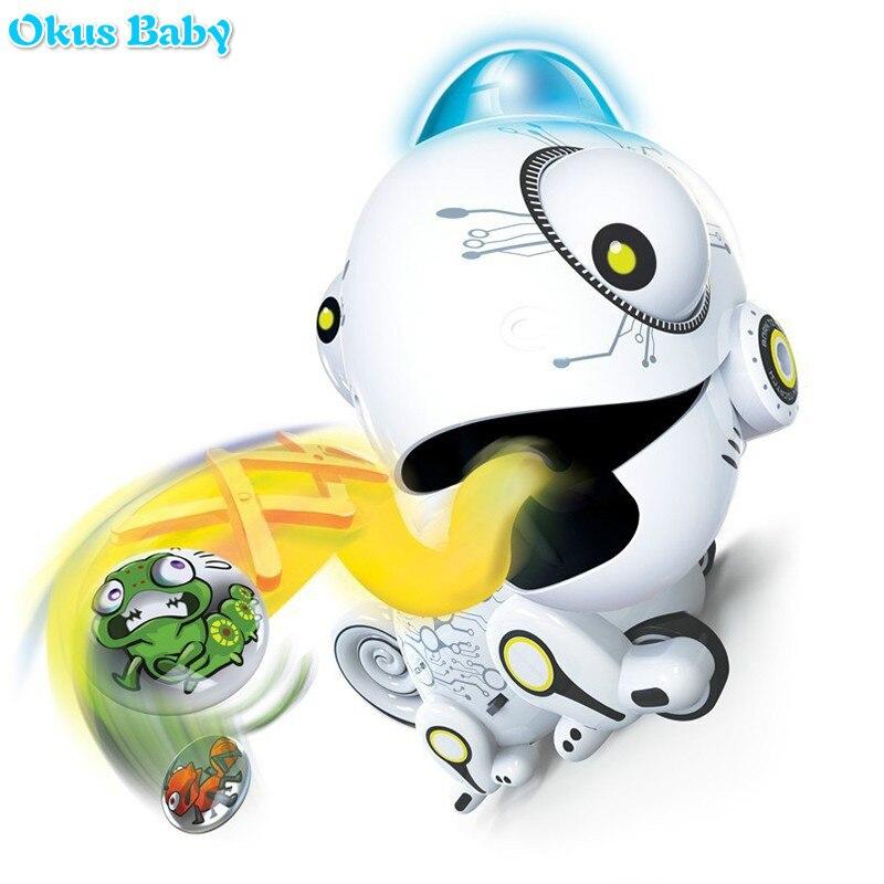 2019 nova marca de controle remoto camaleao 2 4ghz animal estimacao robo brinquedo inteligente para criancas