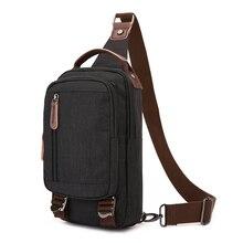 Купить с кэшбэком New Backpack Men Shoulder Crossbody Bag Men Bagpack Male Casual Travel Bags Bolsa Masculina One Shoulder Strap Backpacks Women