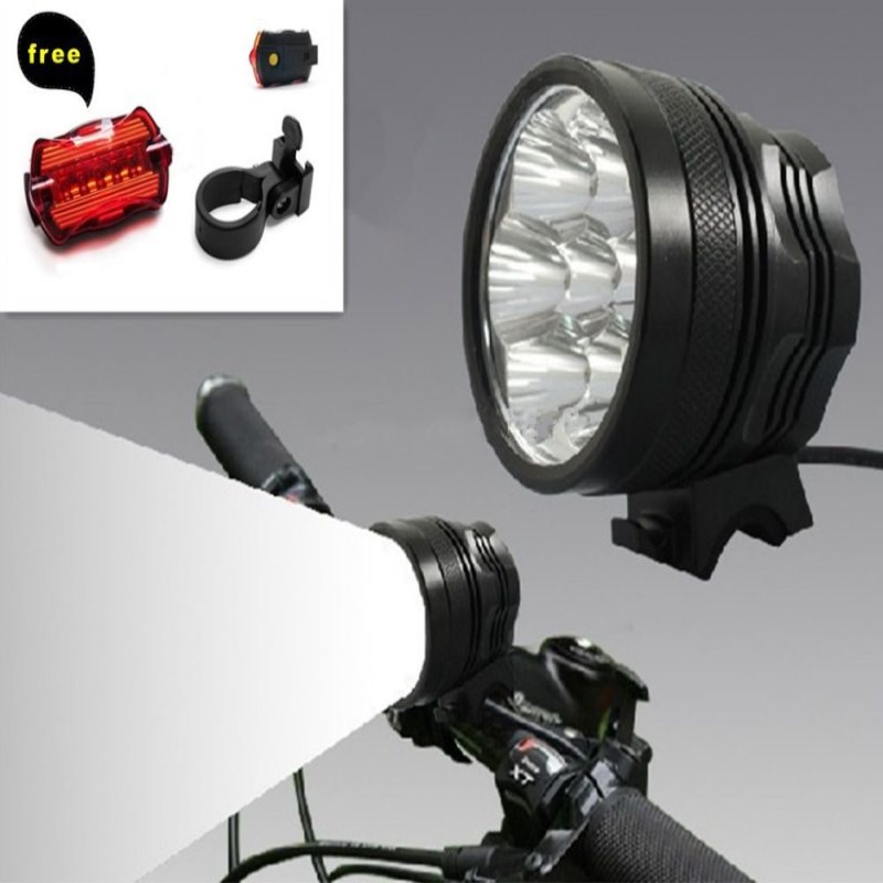 WasaFire Bicycle front light 7* XML T6 9800lm Led Bike Light Headlight 9600mAh Battery Pack Cycling Frontlamp 3 Modes Headlamps sitemap 26 xml page 7