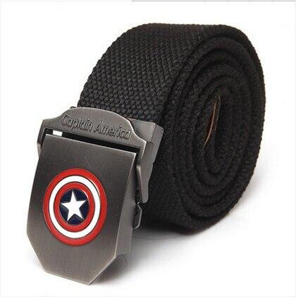 New Fashion Superhero Captain 110cm brand font b belt b font font b Buckle b font