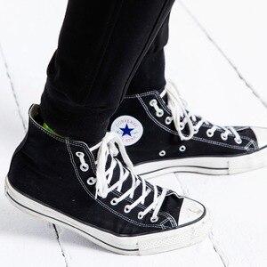Image 3 - SIMWOOD pantalon de survêtement décontracté hommes 2019 nouveaux pantalons de survêtement hommes pantalons épais mode lâche Hip Hop Streetwear livraison gratuite 190086