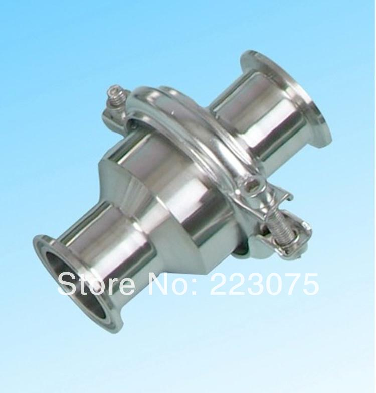 New arrival Sanitary stainless steel SS304 Check Valve Clamp Type 1 1/2'' 1 25 sanitary stainless steel ss304 y type filter strainer f beer dairy pharmaceutical beverag chemical industry