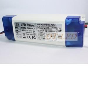 Image 3 - 2 חתיכות 40 W 50 W 60 W LED נהג 18 30x3W 600mA DC54 105V גבוהה כוח LED Powr אספקת הארה