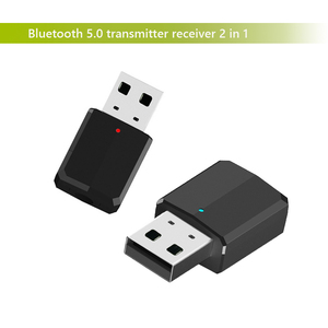 New bluetooth adapter wireless transmitter receiver 2 in 1 3.5mm Aux PC TV car stereo headphone audio doc player adaptor LYJF