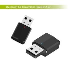 Nuovo adattatore bluetooth senza fili trasmettitore ricevitore 2 in 1 3.5 millimetri Aux PC TV auto lettore stereo per cuffie audio doc adattatore LYJF