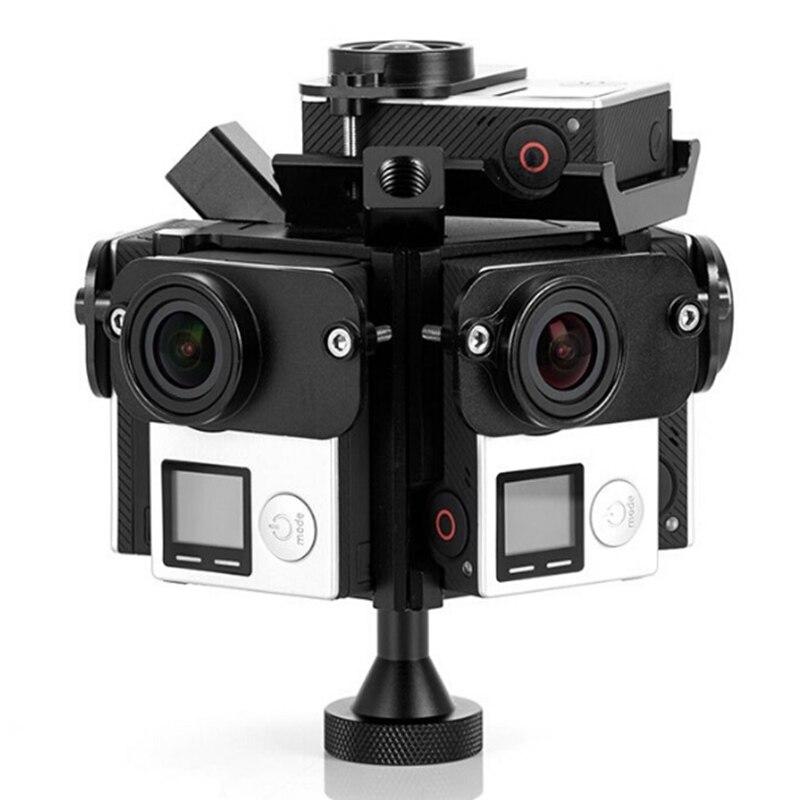 Assemble Gopro HD Hero 3 4 Full Shot Alu Case 360 Degree Spherical Panorama Frame Mount