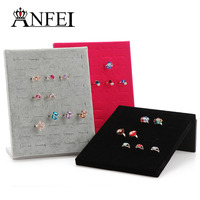 Free Shipping Jewelry Stand Ring Display Shelf Jewelry Holder Neceser Packaging Necklace Holder Jewelry Organizer Rack