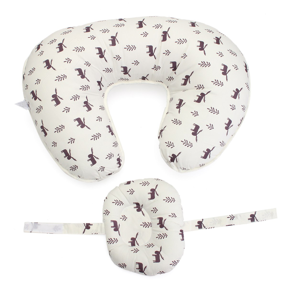Pillow Feeding Nursing Multi-functional Infant Removable Cover Maternity Breast Cushion Cute Animal Pattern Baby Support Safety