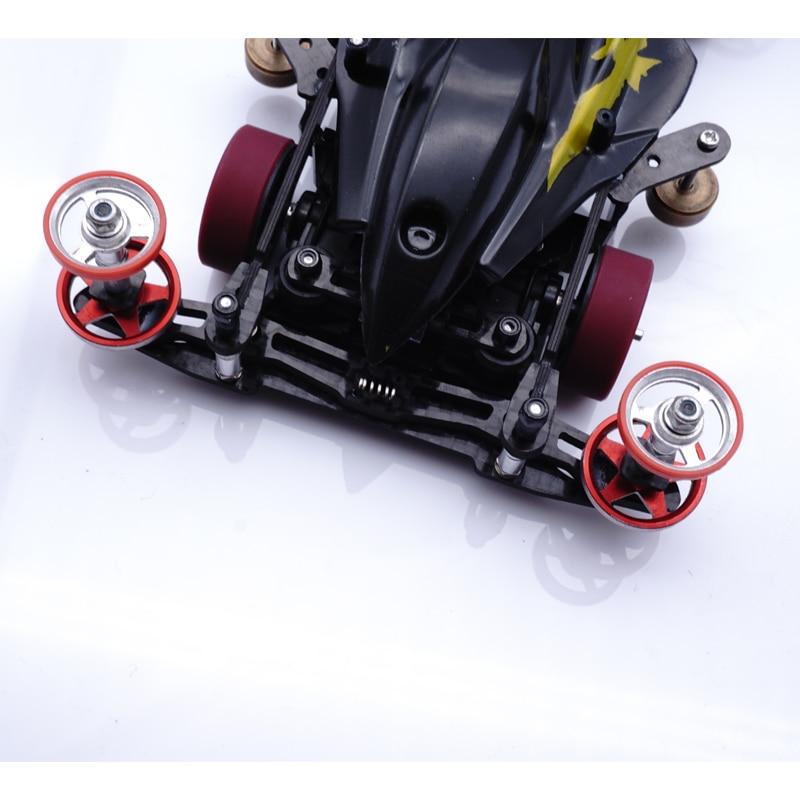 Mini 4wd carbone fait sur commande tamiya mini 4WD kit pièces suspension intérieure MS châssis ressort avant et arrière rester lanterne avant-in Modèle Accessoires from Jeux et loisirs    3
