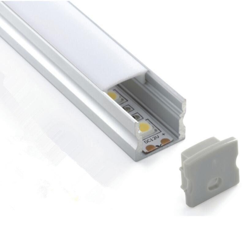 TS13B profil de bande à LED profil en aluminium pour ampoules LED lumière LED profil conduit en aluminium pour bande de LED logement