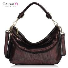 цена 2019 New Vintage Genuine Leather Women's Handbags Shoulder bags for Female Handbag Messenger Bag Women Shoulder Crossbody bag онлайн в 2017 году