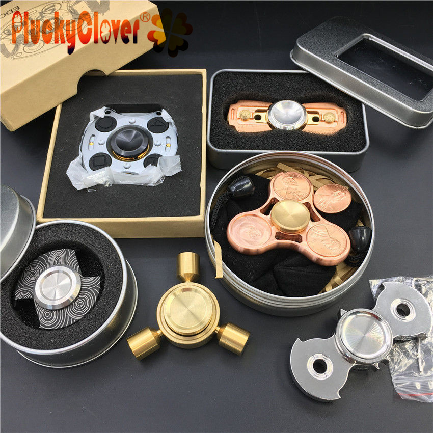 BLUE fidget spinner brand new metal material shipping from US.