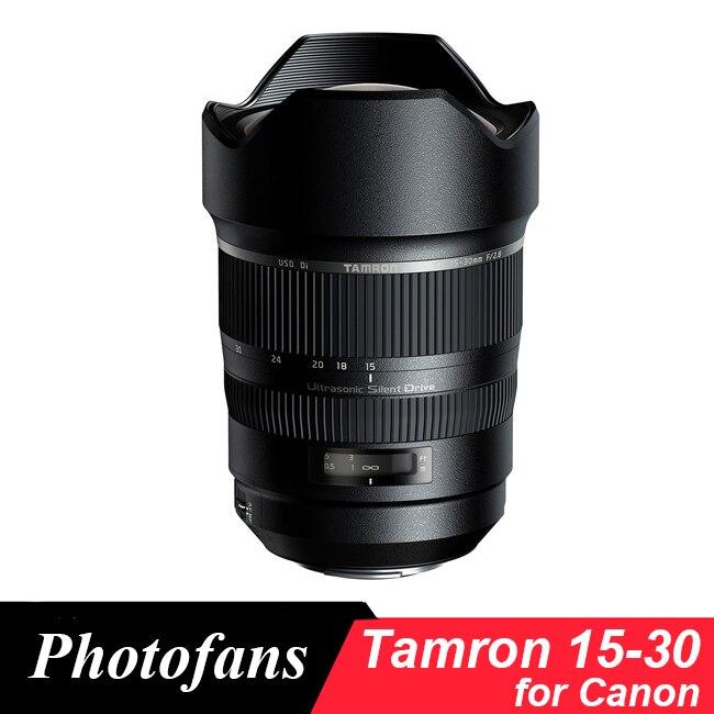 Objectif Tamron SP 15-30mm f/2.8 Di VC USD (A012) pour appareil photo reflex numérique Canon 760D 70D 80D 7D 5D2 5D3 1Dx