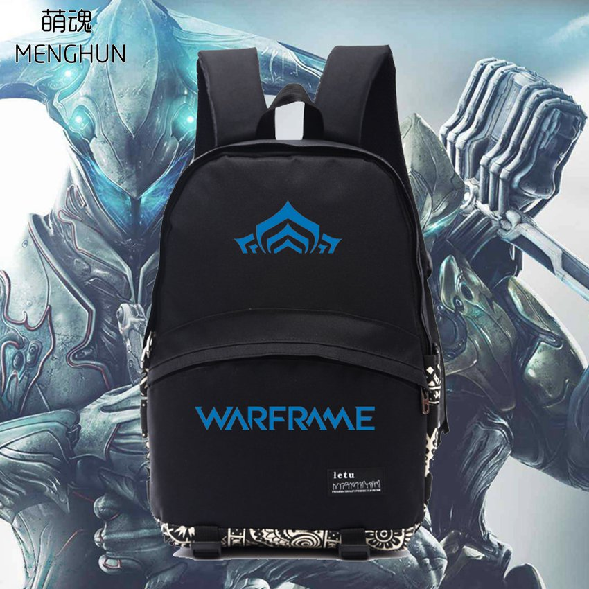 cool game concept backpack black nylon game bag Warframe backpack WARFRAME BAGS NB244 new video game tv game concept backpack destiny 2 team logo printing backpack warlock titan hunter destiny backpacks nb180