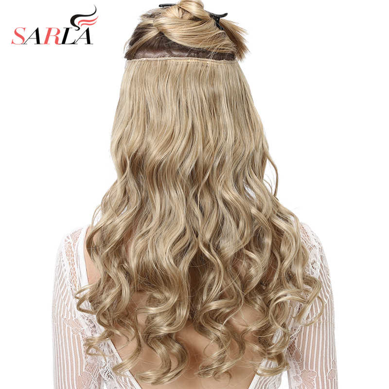 Clip in Hair Extension Ombre 20\' Blonde
