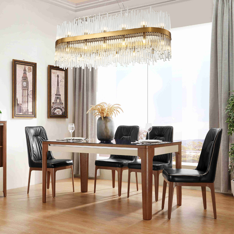 Modern Dining Room Chandelier Lighting Creative Design Home Decoration Crystal Light Luxury  1