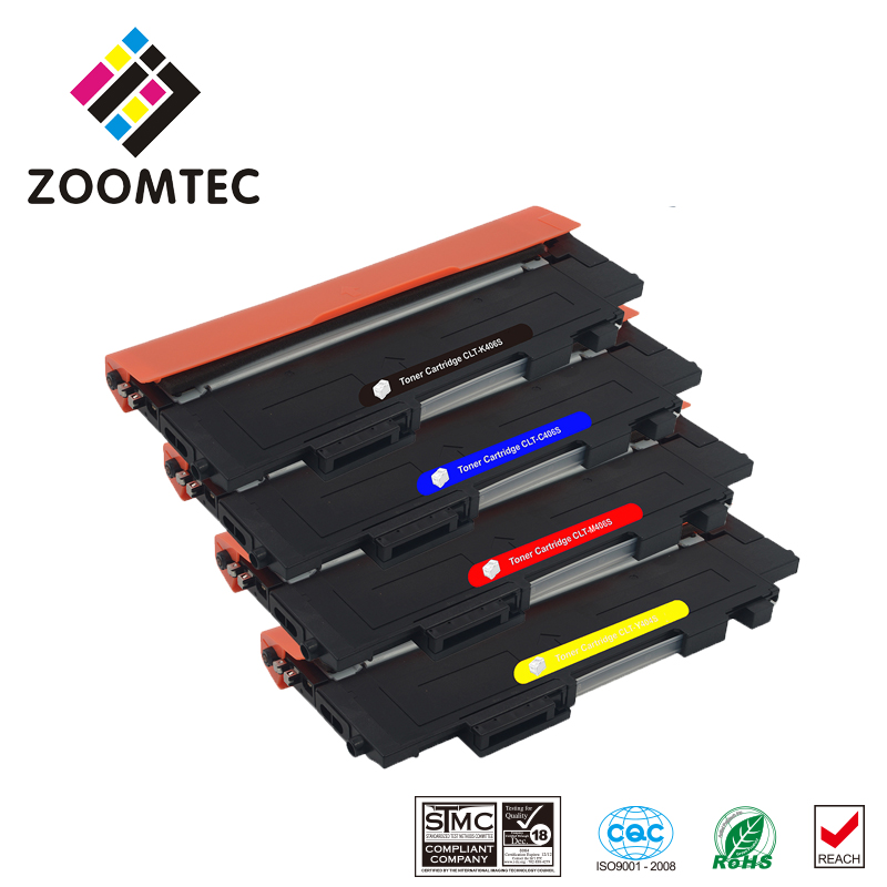 1Set CLT-406S CLT-K406S CLT-M406S CLT-Y406S CLT-C406S Toner Cartridge For Samsung CLP-363 365W CLX-3300 3303FW 3306FN CL-C410W powder for samsung mltd 1192 s xil for samsung d1192s els for samsung mlt d119 s els color toner cartridge powder free shipping