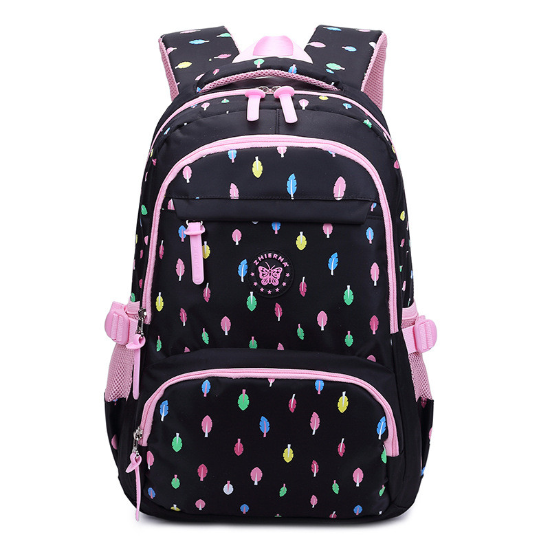 Lovely Oxford School Bags for Teenage Women Waterproof School Backpack Fashion Student Book Bag Multi-pocket Children Backpacks oxford team student s book 1