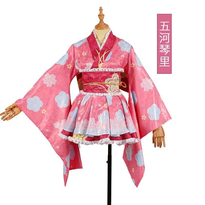 Anime Date·A·Live Itsuka Kotori Cosplay Kimono Costume Dress