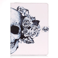 PU Leather Flip Case For Apple IPad Mini 4 Case Stand Cover Case With Card Holder