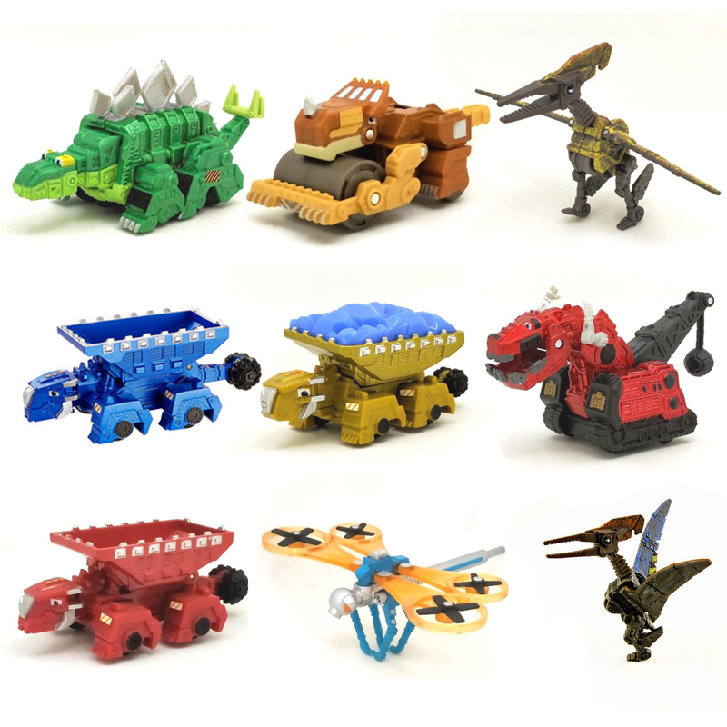 K1 Dinotrux Dinosaur Truck Removable Dinosaur Toy Car Mini Models New Children's Gifts Toys Dinosaur Models Mini Child Toys