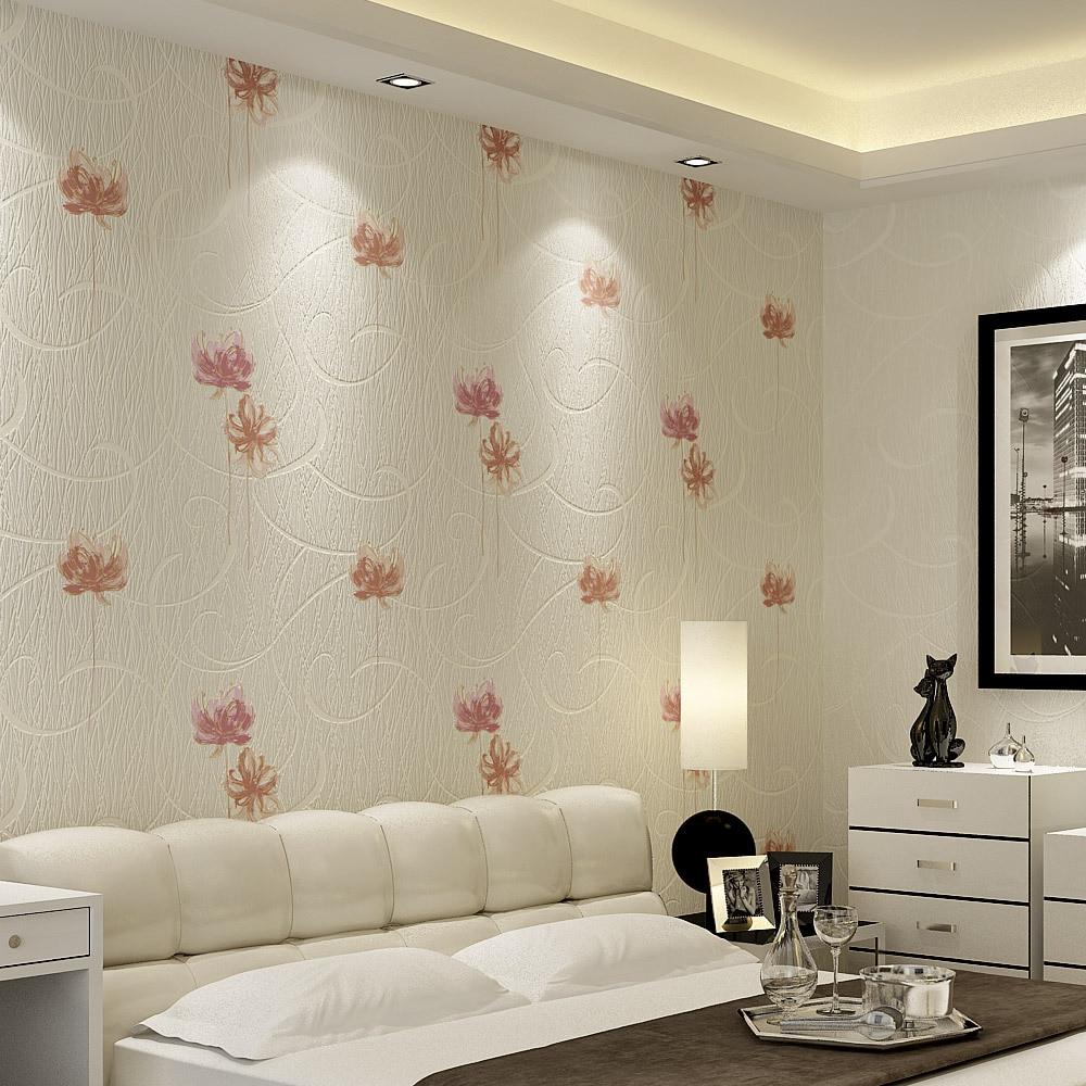 Korean garden 3D wallpaper decoration bedroom living room TV background wallpaper wallpaper factory direct price papel