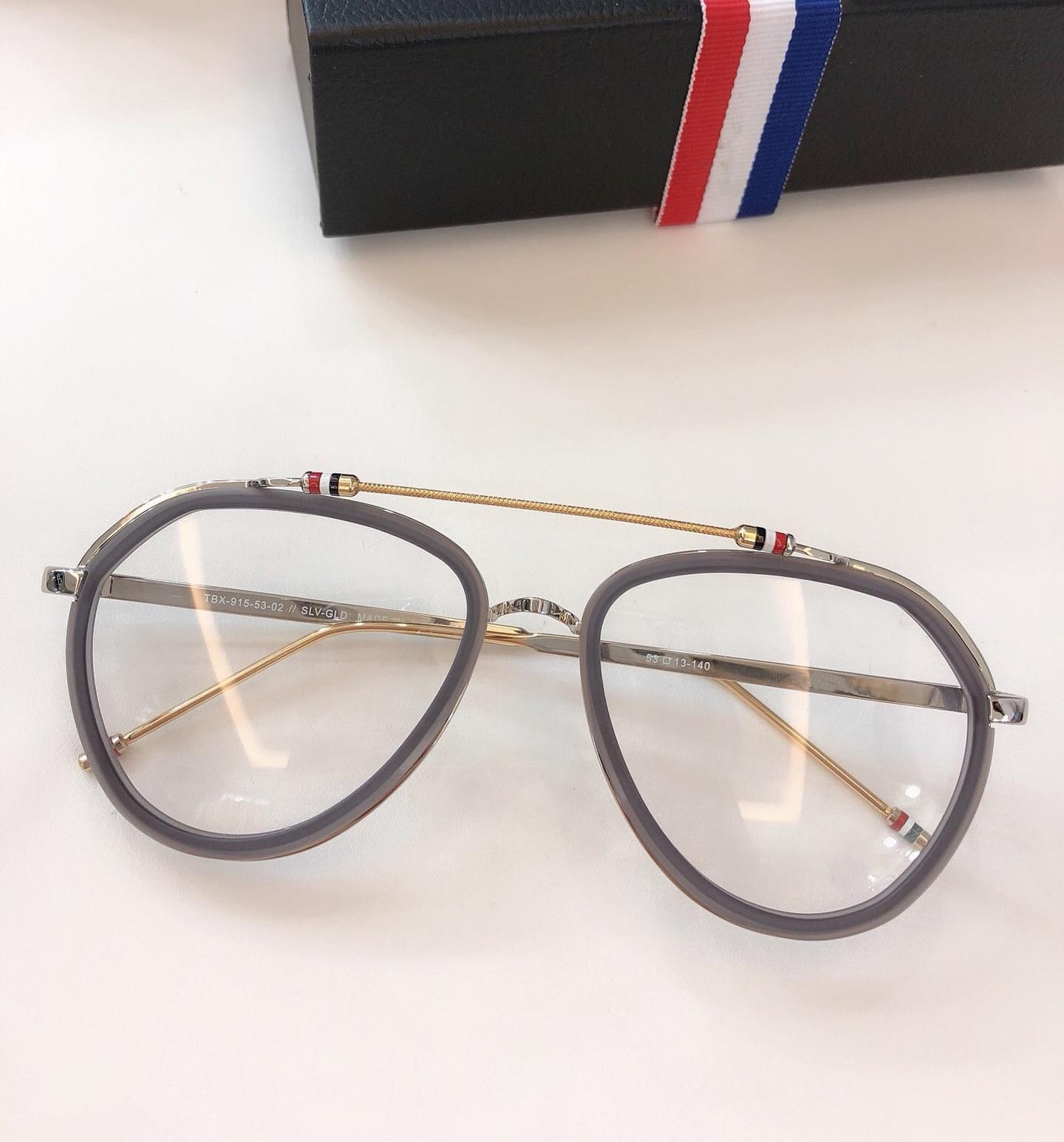 New York Vintage optique thom lunettes cadre hommes femmes ordinateur myopie lunettes de vue lunettes cadre femmes femme avec boîte - 5