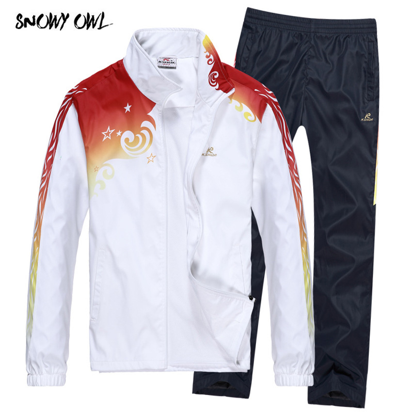 Clearance sale spring and autumn sports suit men and women long-sleeved running sportswear lovers leisure two-piece suit h51 paulmann 95342