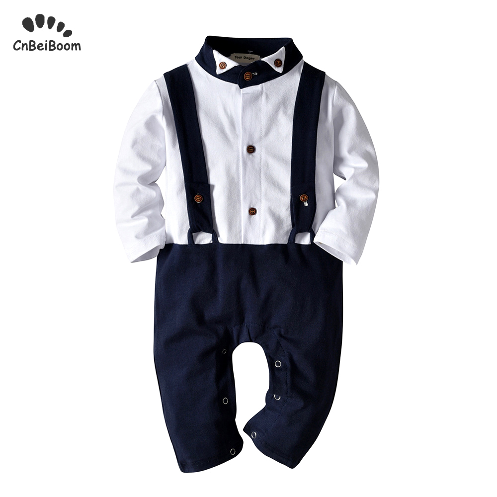 0ba375ba7 Baby boy clothes cotton rompers toddler long sleeve jumpsuits 2019 new  arrivals boys newborn 0-3 1 2 year birthday clothes
