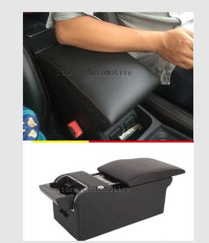 Samochód podłokietnik pudełko do przechowywania dla Skoda Kodiaq 2017 2018 samochodów podłokietnik pudełko do przechowywania