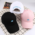 2017 Unisex Letter Selling Adult New Hats For Korea Ulzzang Harajuku Baseball Cap Fashion Couple Embroidery Fish Snapback Caps