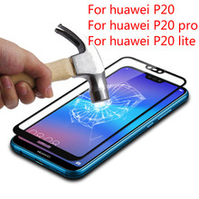 For Huawei P20 Lite Tempered Glass For Huawei P20 P20 Pro 3D Full Cover Screen Protector Armor Film Huawei p20 lite Front Film hat prince hd clear full screen film for huawei p20 lite