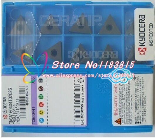 Free shopping 10PCS TNGA160404 A65 lathe cutting tools CNC blade alloy carbide cutting tool carbide inserts