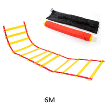 цена на 6/4/3 nylon ladder training belt speed scale fitness equipment agility ladder speed ladder to improve balance and agility