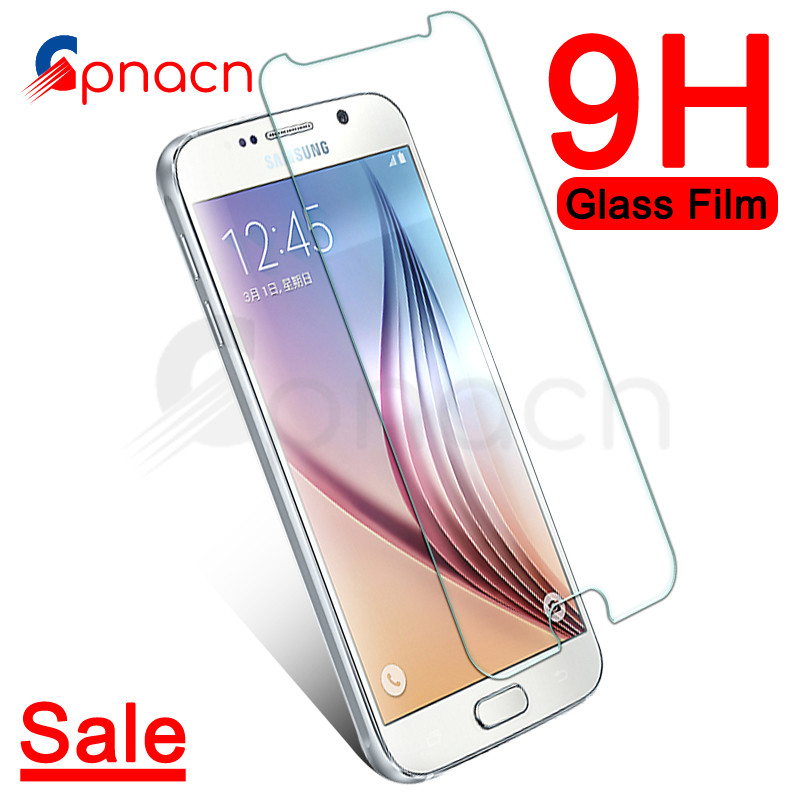 9H Protective Glass On The For Samsung Galaxy S7 S6 S5 S4 S3 Mini Samsung Note 5 4 3 Tempered Screen Protector Glass Film Case