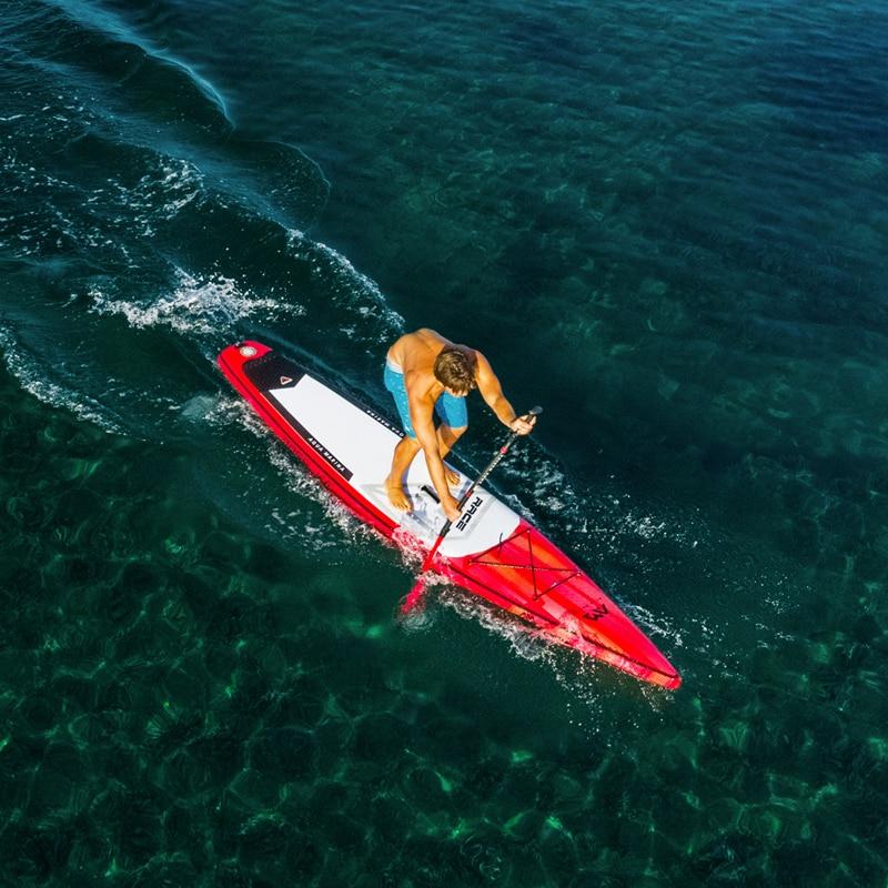 381*66*15 cm AQUA MARINA 2019 RAÇA inflável sup stand up paddle board inflável prancha de surf velocidade de corrida rápida de água
