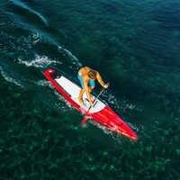 381*66*15 cm AQUA MARINA 2019 course gonflable sup stand up paddle board planche de surf gonflable planche de surf vitesse de course rapide eau