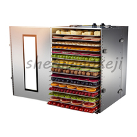 16 Layers Food Dehydrator Fruit And Vegetable Dehydration Machine Air Dryer Drying Dried Fruit Machine Food