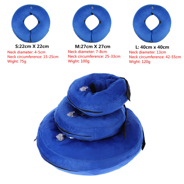 Inflatable Pet Collar and Neck Protector 1