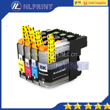 4pcs Compatible ink cartridge Brother LC223 LC221 for MFC-J4420DW MFC-J4620DW MFC-J4625DW MFC-J5320DW MFC-J5620DW MFC-J5625DW