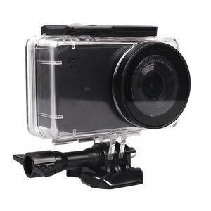 Image 3 - 5IN1 Full Bảo Vệ Bộ Túi Cho XIAOMI MIJIA 4K Camera Chống Thấm Nước Ốp Lưng Bên Khung Bao Ốp Silicone