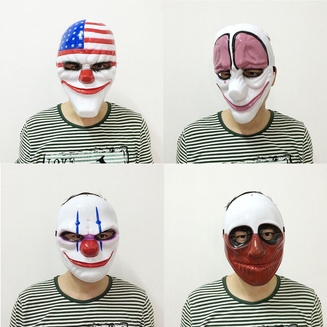 Online Buy Wholesale clown mask from China clown mask Wholesalers ...