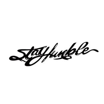 2018 Hot Sale Car Stying Stay Humble Fun Jdm Car Windshield Vinyl Sticker Decal Jdm salt rock surf funny car window jdm euro vinyl decal sticker